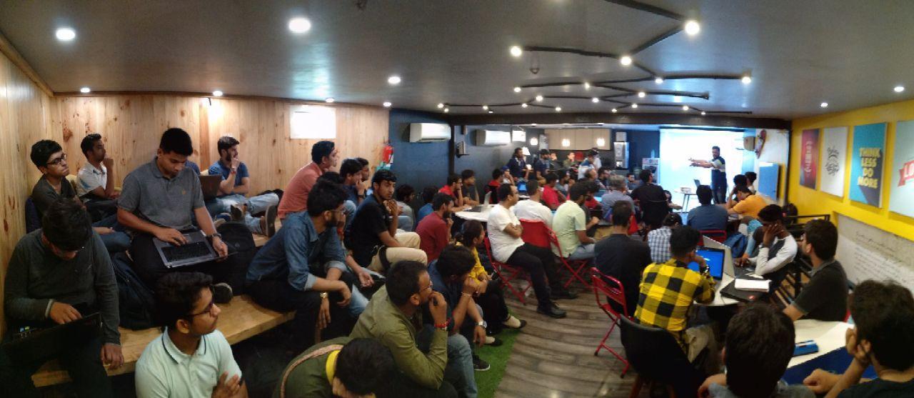 Raspberry Pi Hackathon at CP